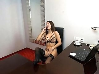 Teen Has Guided Phone Sex And Orgasm - JOI