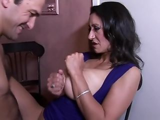 Lustful milf with amazing big boobs Persia Monir needs to get fucked
