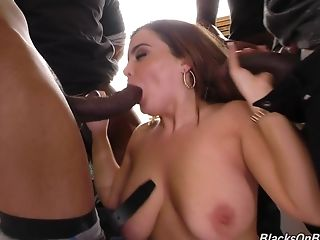 Gangbanging Natasha Nice and cumming on her beautiful face