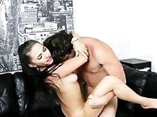 Beauty, Big Tits, Blowjob, Boss, Brunette, Crying, Cute, Hardcore, Horny, Slut,
