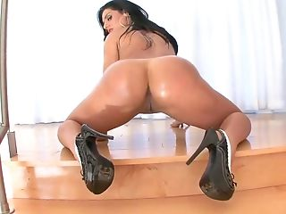 Horny pornstar Bella Reese in incredible big ass, big tits sex clip