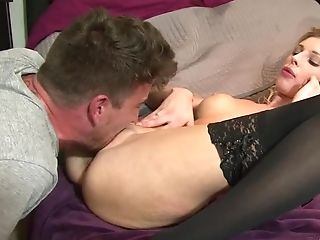 Mandy Slim is a hot coed who really loves to suck dick. She