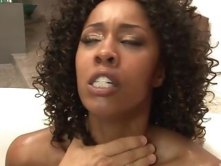 Misty Stone gets talked into screwing with more guys at once