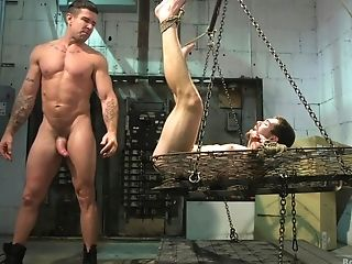 Amateur maledom anal and submissive oral sex