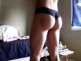 Twink in panties CD nice ass