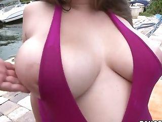 Alex Chance, Big Ass, Big Tits, HD, Outdoor,