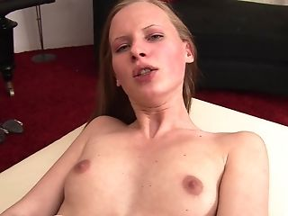hot and horny Amelie Pure gets her butt banged by handsome guy