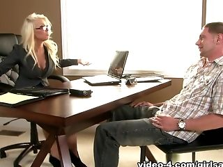 Fabulous pornstars Darcy Tyler, Jay Rising, Britney Amber in Best MILF, Big Tits porn movie