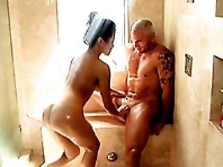 азиатки, в ванной комнате, красотка, минет, милые, глубокая глотка, этническое, резиновая кукла, Jackie Lin, массаж,
