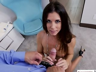 Slender milf India Summer is fucked in hot POV clip