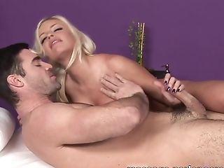 Crazy pornstar in Horny Blonde, Massage sex scene