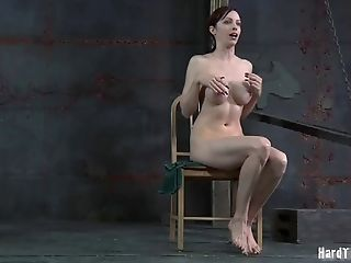 Two redhead harlots enjoy having some kinky BDSM fun