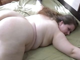 BBW got spanked and fucked really hard