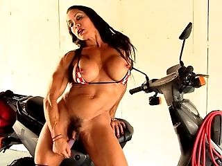 Denise Masino - Full Speed Bikini - Female Bodybuilder