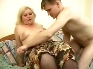 Crazy Amateur video with BBW, Young/Old scenes