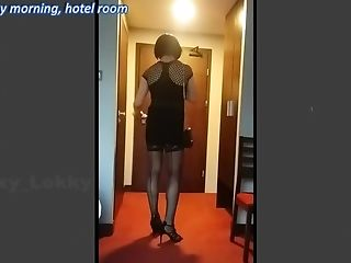 Hotel fantasy - sissy needs her Daddy