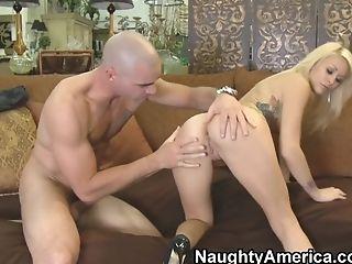 Babe, Big Tits, Blonde, Blowjob, Boobless, HD, Monique Alexander, Natural Tits, Naughty,