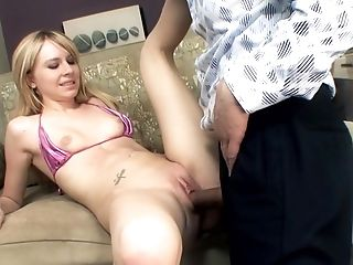 Michael Stefano can't wait any more to stick his rod in irresistibly sexy Kelly Klass's love hole