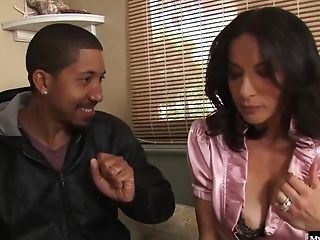 A threesome with a hard black cock is what Mandy Sweet and Melissa want