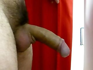 Masturbating public changing room hard cock and cumming #4