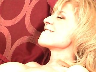 Blonde Nina Hartley and Allie H spend their sexual energy together