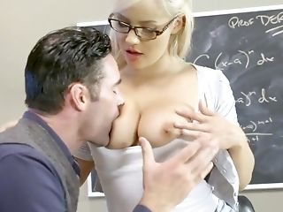 Impressive scenes of sex with college babe Kylie Page