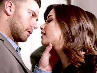 Aria Lee, Babe, Blowjob, Brunette, Cowgirl, Hardcore, Missionary, Natural Tits, Oral Sex, Pussy,