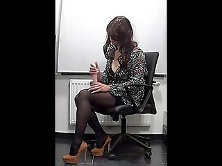 My lovely sexy secretaries toy)